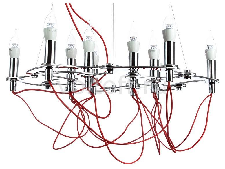 Подвесная люстра Capillari 8777/02 LM-12Потолочные светильники хай тек<br>Артикул - DV_8777_02_LM-12,Серия - Capillari<br>