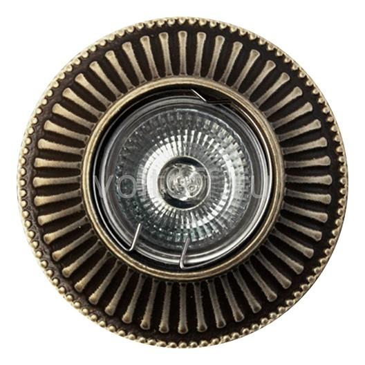 Встраиваемый светильник Точка светаСветильники под бронзу<br>Артикул - TS_AZ15AB,Серия - AZ<br>