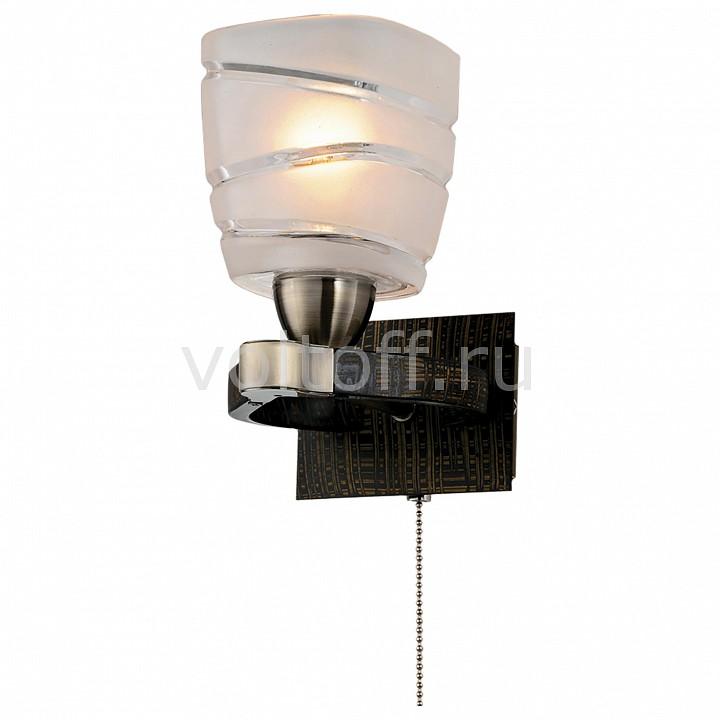 Бра CitiluxСветильники под бронзу<br>Артикул - CL150311,Серия - Каппа<br>