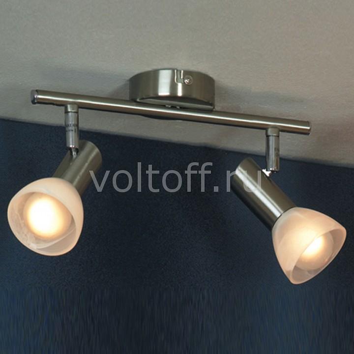Спот LussoleПотолочные светильники модерн<br>Артикул - LSQ-4101-02,Серия - Leggero<br>