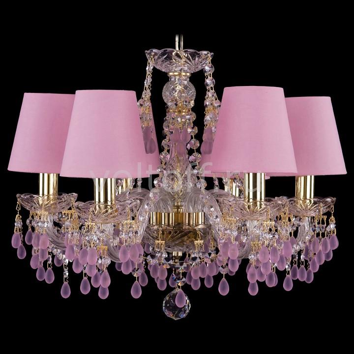 Подвесная люстра Bohemia Ivele Crystal 1410/6/160/G/V7010/SH20