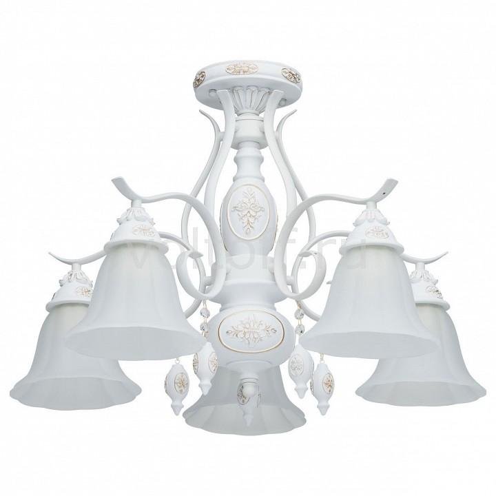Люстра на штанге MW-LightКлассические потолочные светильники<br>Артикул - MW_639011605,Серия - Версаче 11<br>