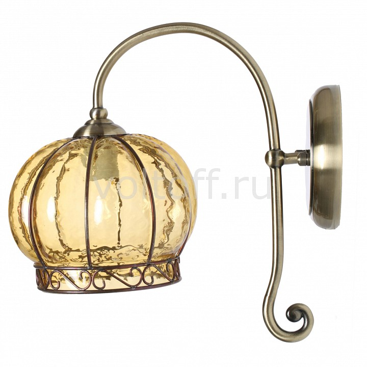 Бра Arte LampСветильники под бронзу<br>Артикул - AR_A2106AP-1AB,Серия - Venice<br>