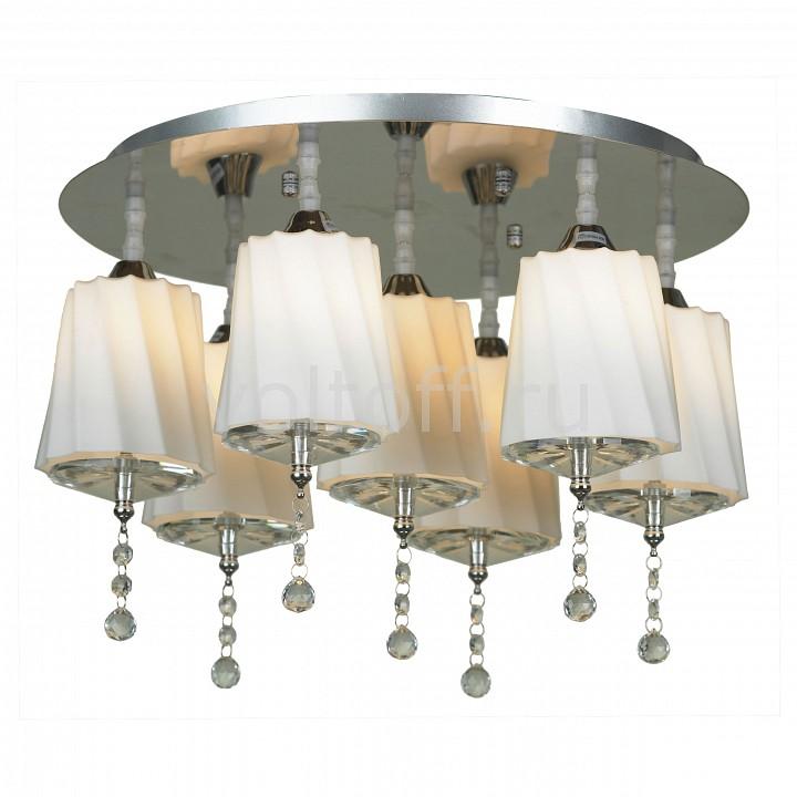 Потолочная люстра LussoleЭлитные светильники<br>Артикул - LSF-7403-07,Серия - Loreto<br>