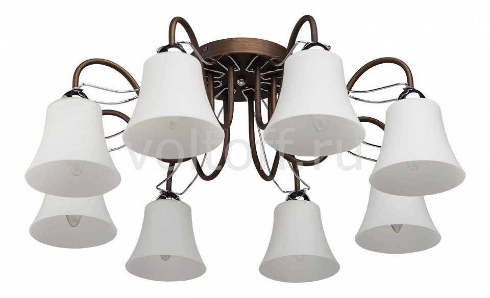 Потолочная люстра MW-Light - MW-LightПотолочные светильники модерн<br>Артикул - MW_324013208,Серия - Альфа 3<br>