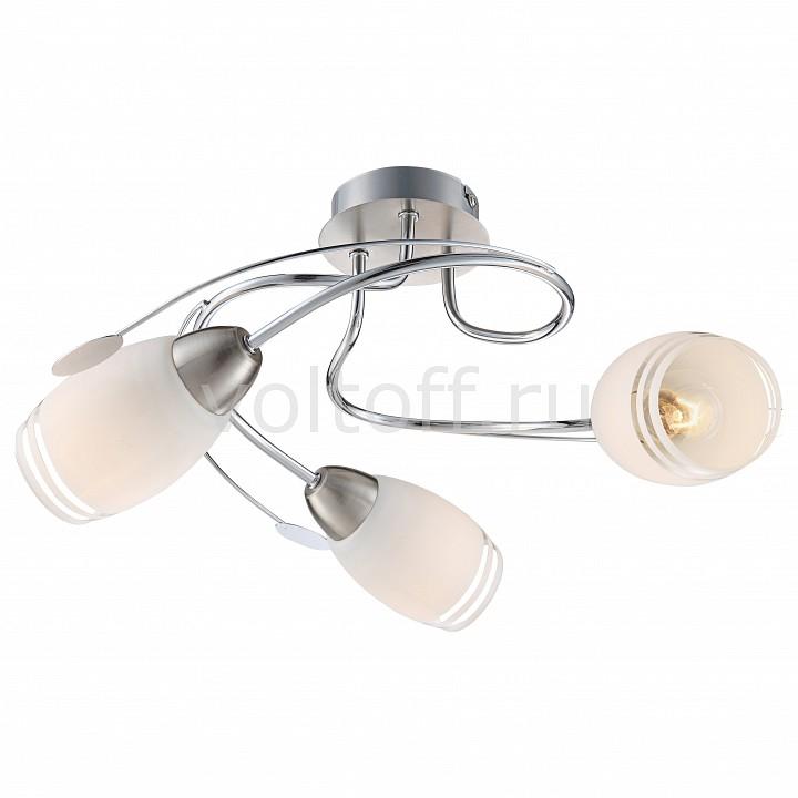 Потолочная люстра GloboПотолочные светильники модерн<br>Артикул - GB_54283-3,Серия - Bosporus<br>