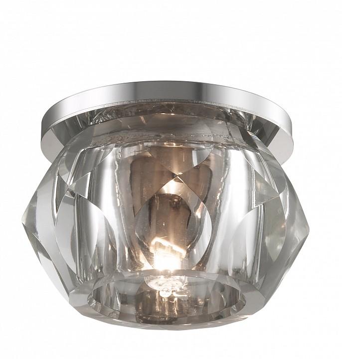 Встраиваемый светильник NovotechЭлитные светильники<br>Артикул - NV_357046,Серия - Glitz<br>