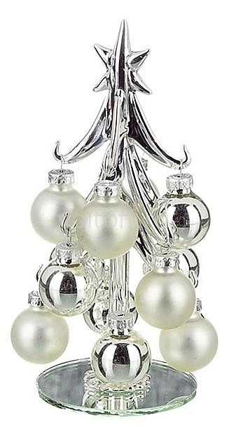 Ель новогодняя с елочными шарами АРТИ-М