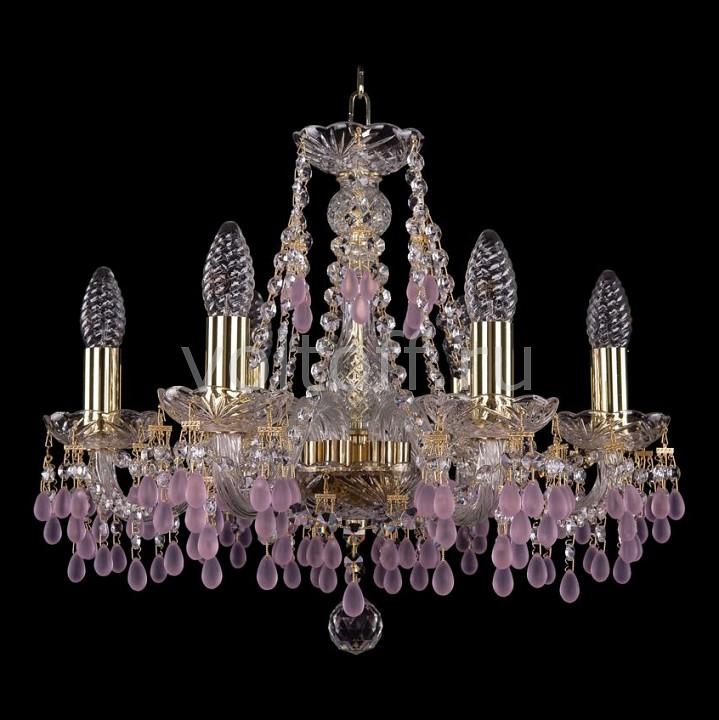Подвесная люстра Bohemia Ivele CrystalЭлитные светильники<br>Артикул - BI_1410_6_160_G_7010,Серия - 1410<br>