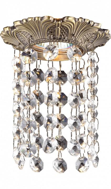 Встраиваемый светильник NovotechСветильники под бронзу<br>Артикул - NV_369864,Серия - Grape<br>