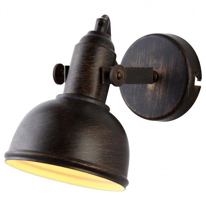 Спот Arte LampМеталлические светильники<br>Артикул - AR_A5213AP-1BR,Серия - Martin<br>