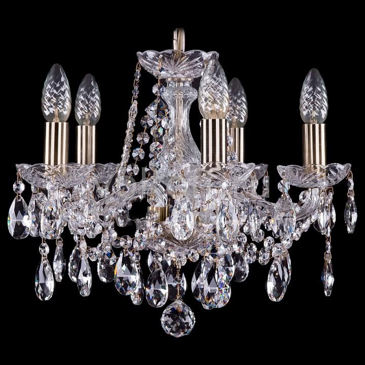 Подвесная люстра Bohemia Ivele CrystalЭлитные светильники<br>Артикул - BI_1413_5_141_Pa,Серия - 1413<br>
