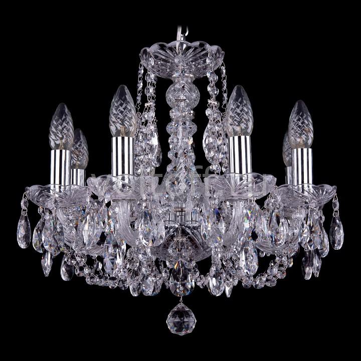 Подвесная люстра Bohemia Ivele CrystalЭлитные светильники<br>Артикул - BI_1406_8_141_Ni,Серия - 1406<br>