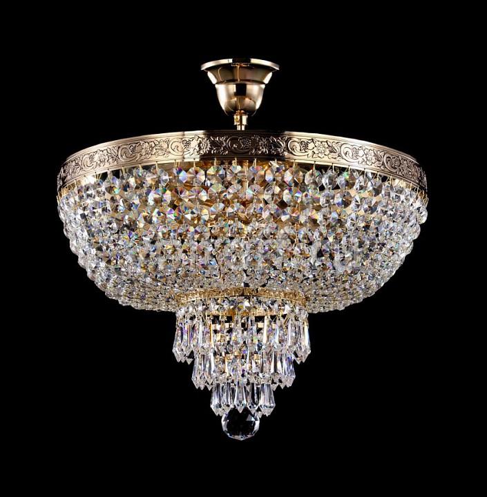 Люстра на штанге MaytoniЭлитные светильники<br>Артикул - MY_A890-PT40-G,Серия - Diamant 1<br>
