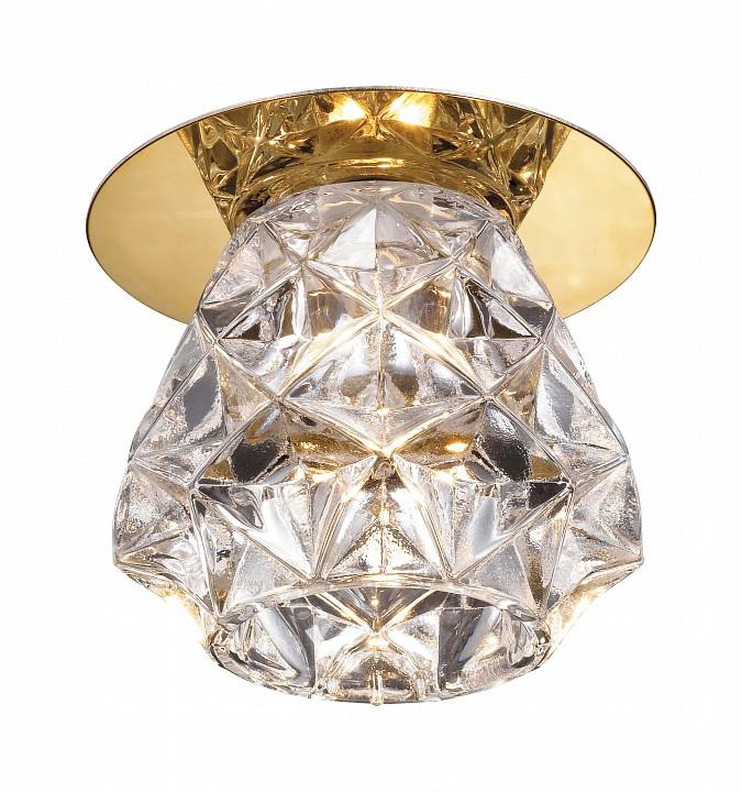 Встраиваемый светильник NovotechЭлитные светильники<br>Артикул - NV_369674,Серия - Crystal<br>