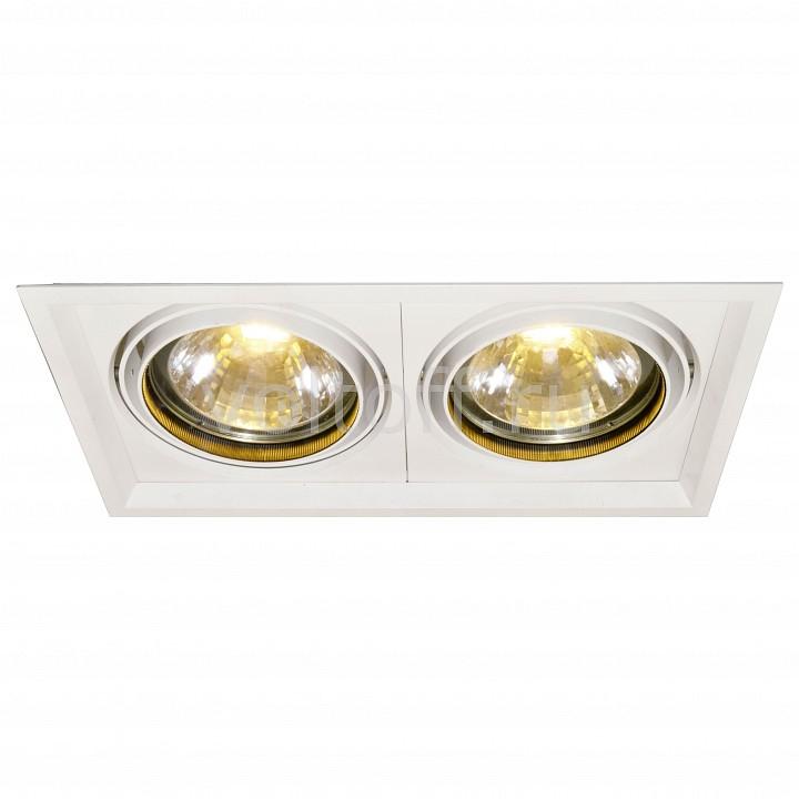 Встраиваемый светильник Arte LampСветильники для общественных помещений<br>Артикул - AR_A2134PL-2WH,Серия - Accent<br>