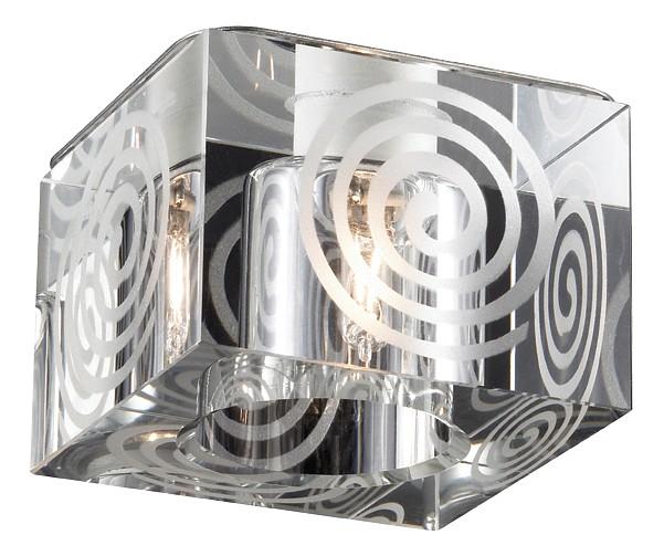 Встраиваемый светильник NovotechПотолочные светильники модерн<br>Артикул - NV_369515,Серия - Cubic<br>