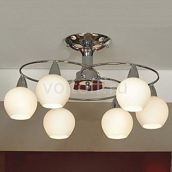 Люстра на штанге LussoleПотолочные светильники модерн<br>Артикул - LSQ-4707-06,Серия - Caruso<br>