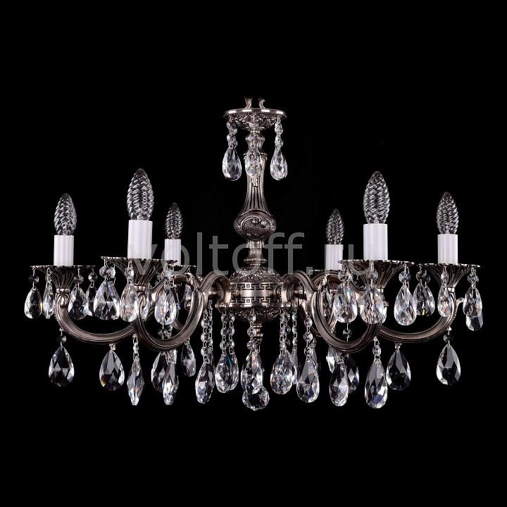 Подвесная люстра Bohemia Ivele CrystalЭлитные светильники<br>Артикул - BI_1702_6_A_NB,Серия - 1702<br>