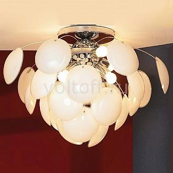 Накладной светильник LussoleПотолочные светильники модерн<br>Артикул - LSQ-4303-06,Серия - Mattina<br>