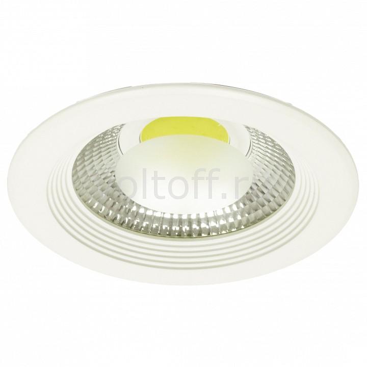 Встраиваемый светильник Arte LampСветильники для общественных помещений<br>Артикул - AR_A6410PL-1WH,Серия - Uovo<br>