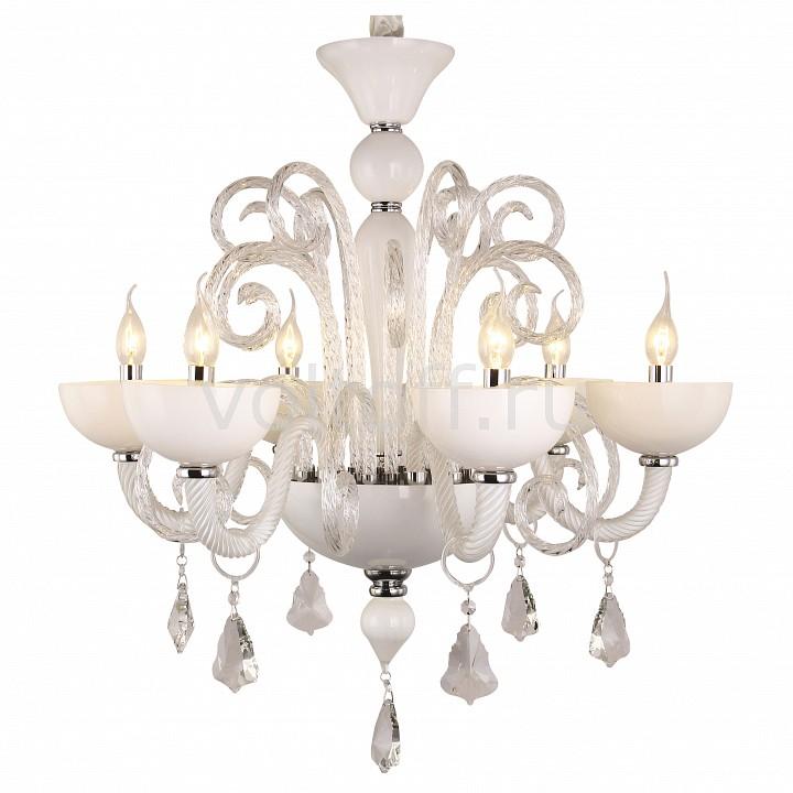 Подвесная люстра Arte LampЭлитные светильники<br>Артикул - AR_A1130LM-6CC,Серия - Albina<br>