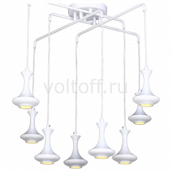 Подвесная люстра FavouriteМеталлические светильники<br>Артикул - FV_1722-8P,Серия - Leo<br>