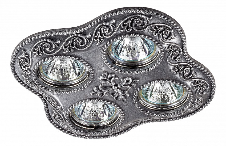 Встраиваемый светильник NovotechКлассические потолочные светильники<br>Артикул - NV_370079,Серия - Pattern<br>