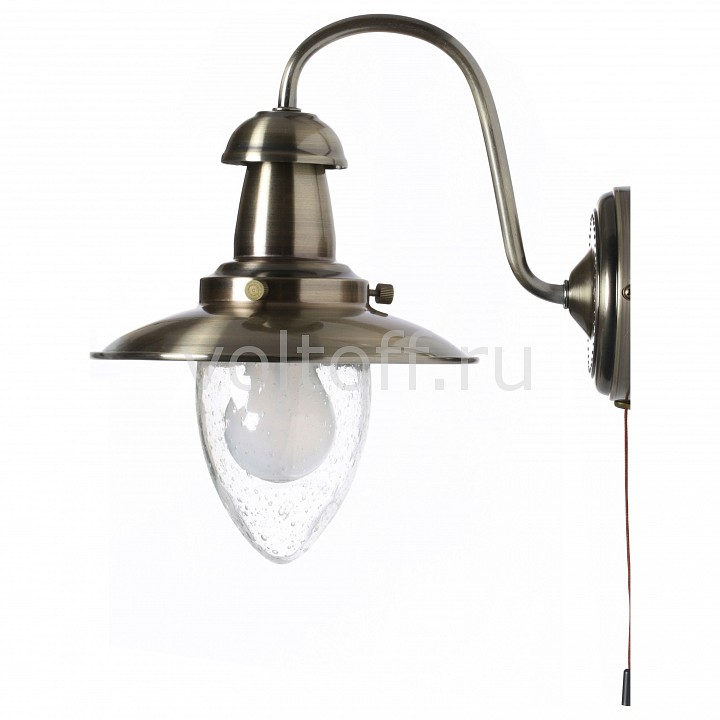 Бра Arte Lamp - Arte LampСветильники под бронзу<br>Артикул - AR_A5518AP-1AB,Серия - Fisherman<br>