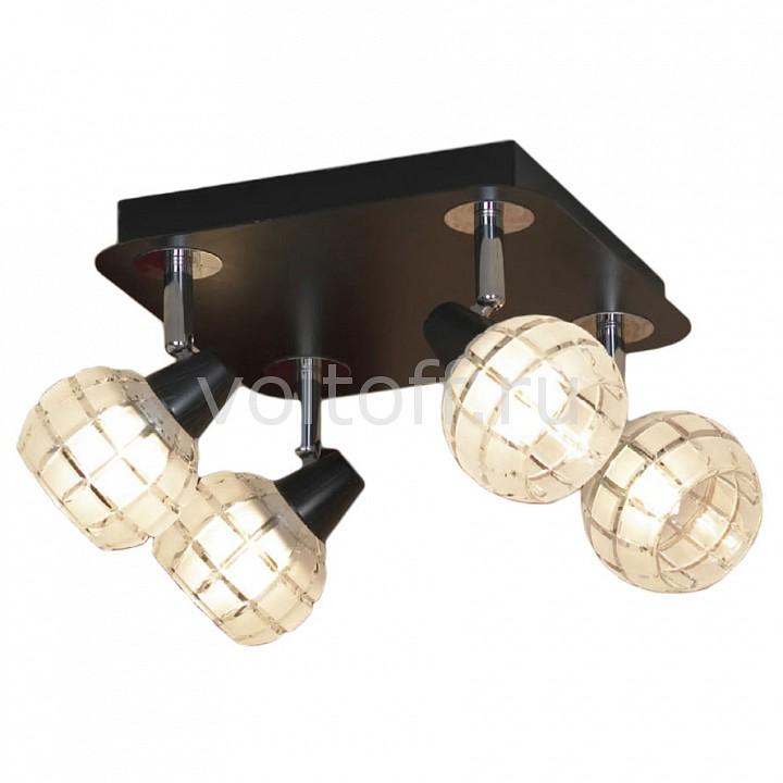 Спот LussoleПотолочные светильники модерн<br>Артикул - LSL-8601-04,Серия - Silandro<br>