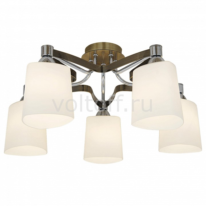 Потолочная люстра CitiluxСветильники под бронзу<br>Артикул - CL139151,Серия - Глория<br>
