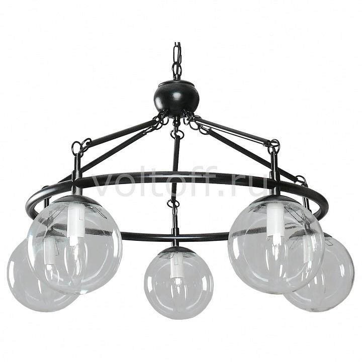 Подвесная люстра АврораПотолочные светильники модерн<br>Артикул - AV_10044-5L,Серия - Лофт<br>