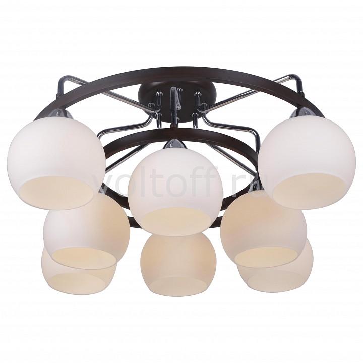 Потолочная люстра Arte LampПотолочные светильники модерн<br>Артикул - AR_A7148PL-8CK,Серия - Fiorentino<br>