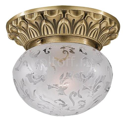Накладной светильник Reccagni AngeloСветильники под бронзу<br>Артикул - RA_PL_7711_1,Серия - 771<br>