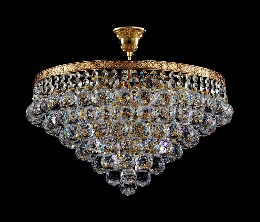 Люстра на штанге MaytoniЭлитные светильники<br>Артикул - MY_BA783-TK46-G,Серия - Gala<br>