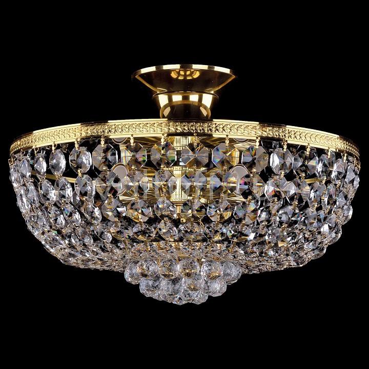 Люстра на штанге Bohemia Ivele CrystalЭлитные светильники<br>Артикул - BI_1928_35Z_G,Серия - 1928<br>