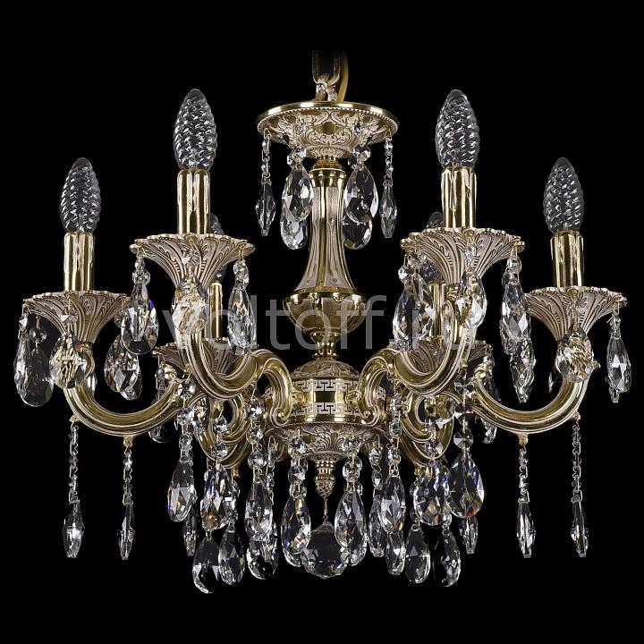 Подвесная люстра Bohemia Ivele CrystalЭлитные светильники<br>Артикул - BI_1707_6_125_A_GI,Серия - 1707<br>