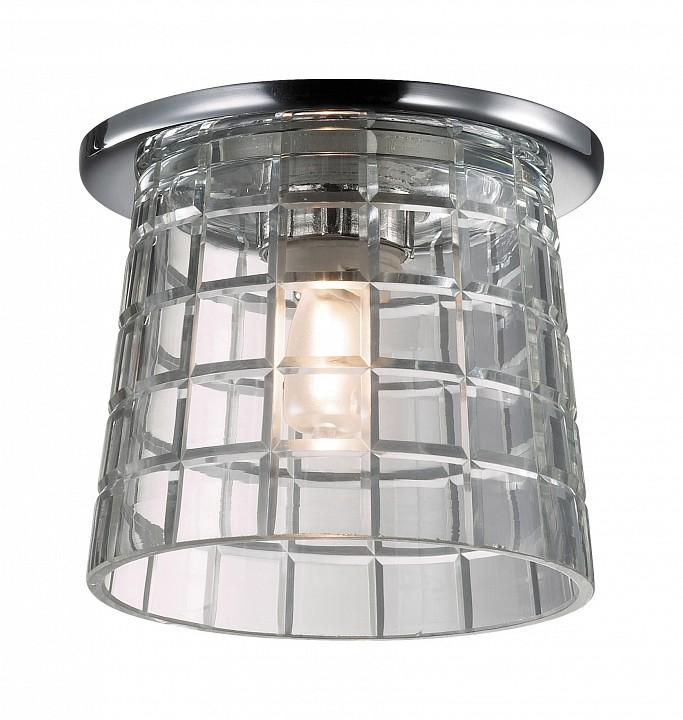 Встраиваемый светильник NovotechПотолочные светильники модерн<br>Артикул - NV_369460,Серия - Facet<br>