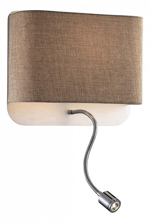 Накладной светильник Odeon LightСветодиодные настенные светильники<br>Артикул - OD_2589_2W,Серия - Bostri<br>