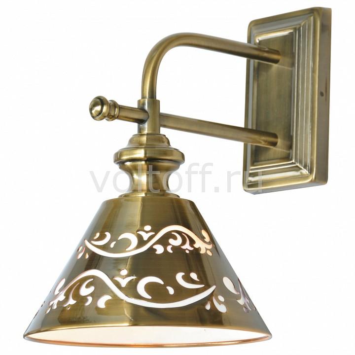 Бра Arte LampСветильники под бронзу<br>Артикул - AR_A1511AP-1PB,Серия - Kensington<br>