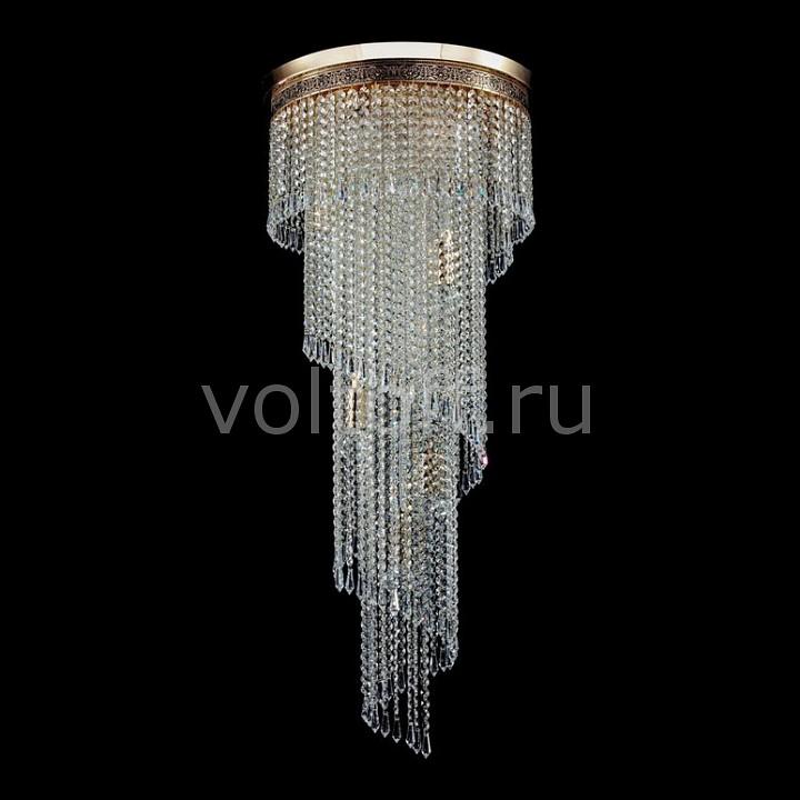 Потолочная люстра MaytoniЭлитные светильники<br>Артикул - MY_T522-PT40x100-G,Серия - Cascade<br>