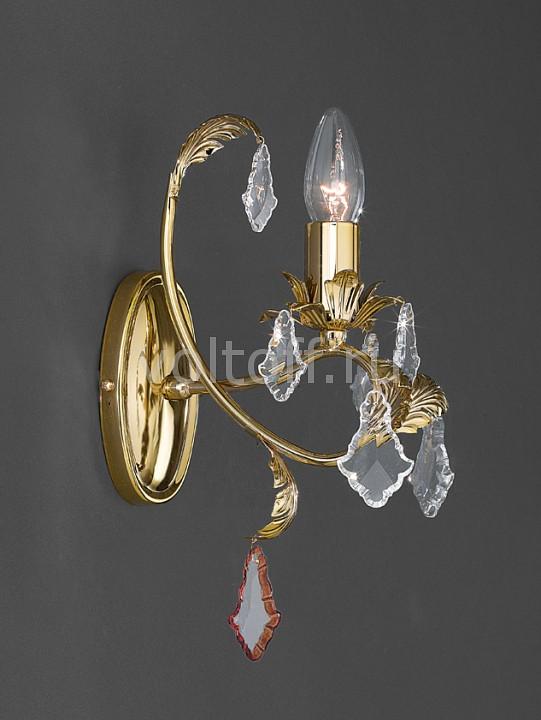 Бра La LampadaЭлитные светильники<br>Артикул - LL_WB.13577-1.26,Серия - 13577<br>