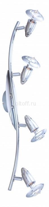 Спот GloboС четырьмя лампами<br>Артикул - GB_5434-4,Серия - Lord<br>