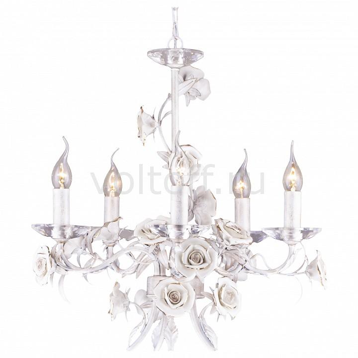 Подвесная люстра Arte LampКлассические потолочные светильники<br>Артикул - AR_A2036LM-5WG,Серия - Estimate<br>