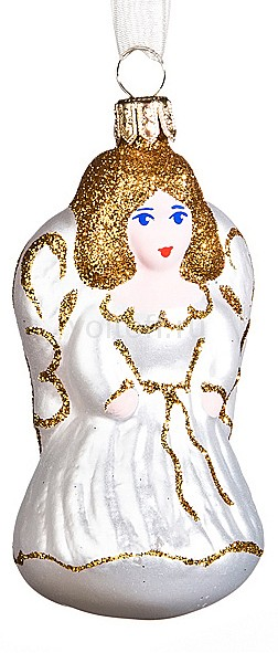 Елочная игрушка АРТИ-М (8 см) Ангелочек 860-062