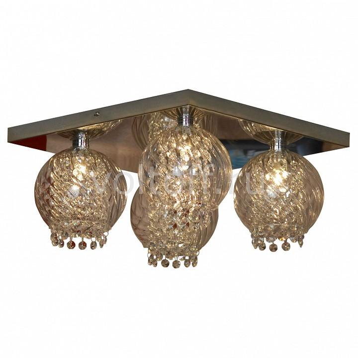 Накладной светильник LussoleЭлитные светильники<br>Артикул - LSC-7907-04,Серия - Branca<br>