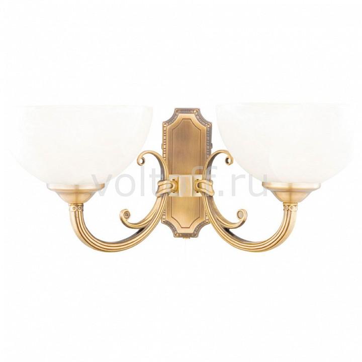 Бра Arte LampСветильники под бронзу<br>Артикул - AR_A3777AP-2AB,Серия - Windsor<br>