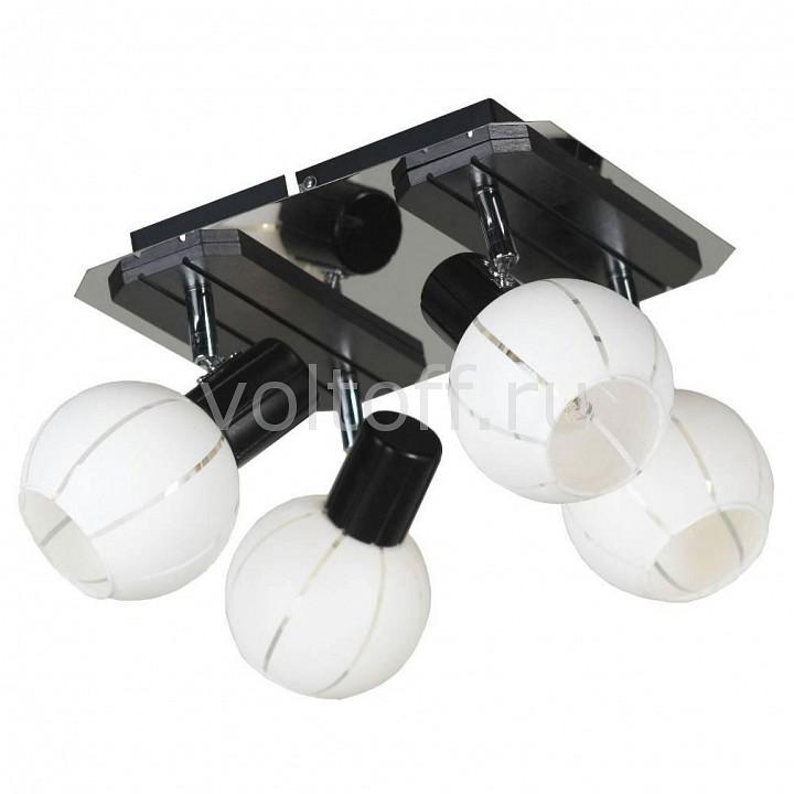 Спот LussoleПотолочные светильники модерн<br>Артикул - LSL-8901-04,Серия - Mara<br>