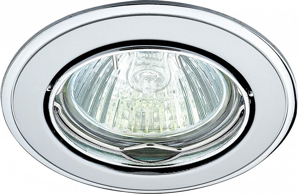 Встраиваемый светильник NovotechМеталлические светильники<br>Артикул - NV_369104,Серия - Crown<br>