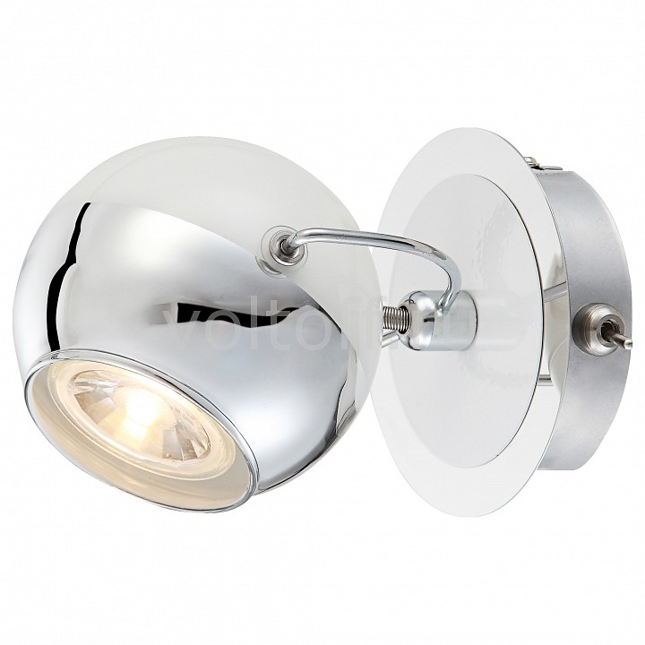 Бра GloboМеталлические светильники<br>Артикул - GB_57883-1O,Серия - Charley<br>